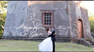 Amanda & Jon | Elegant Island Wedding