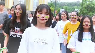 Flashmob AOL Chuyên Sơn La - Dựng thử
