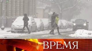 Зима нечаянно нагрянет: юг России накрыло волной холода и горой снега.