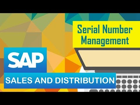 SAP SD | Serial Number Management | Deciding scope of specia
