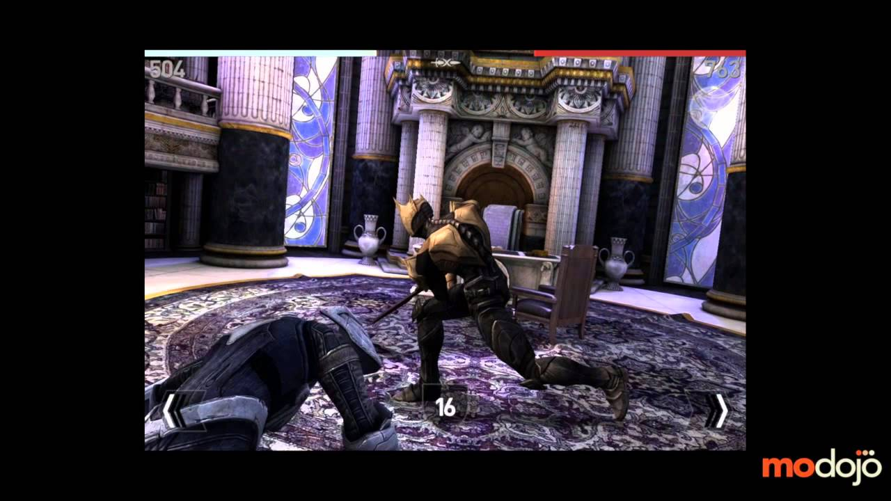 Infinity Blade 3 Walkthrough (iPhone/iPad) Raidriar Stronghold, Larioth 6th  Battle