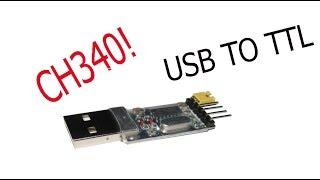 программатор на CH340. USB TO TTL
