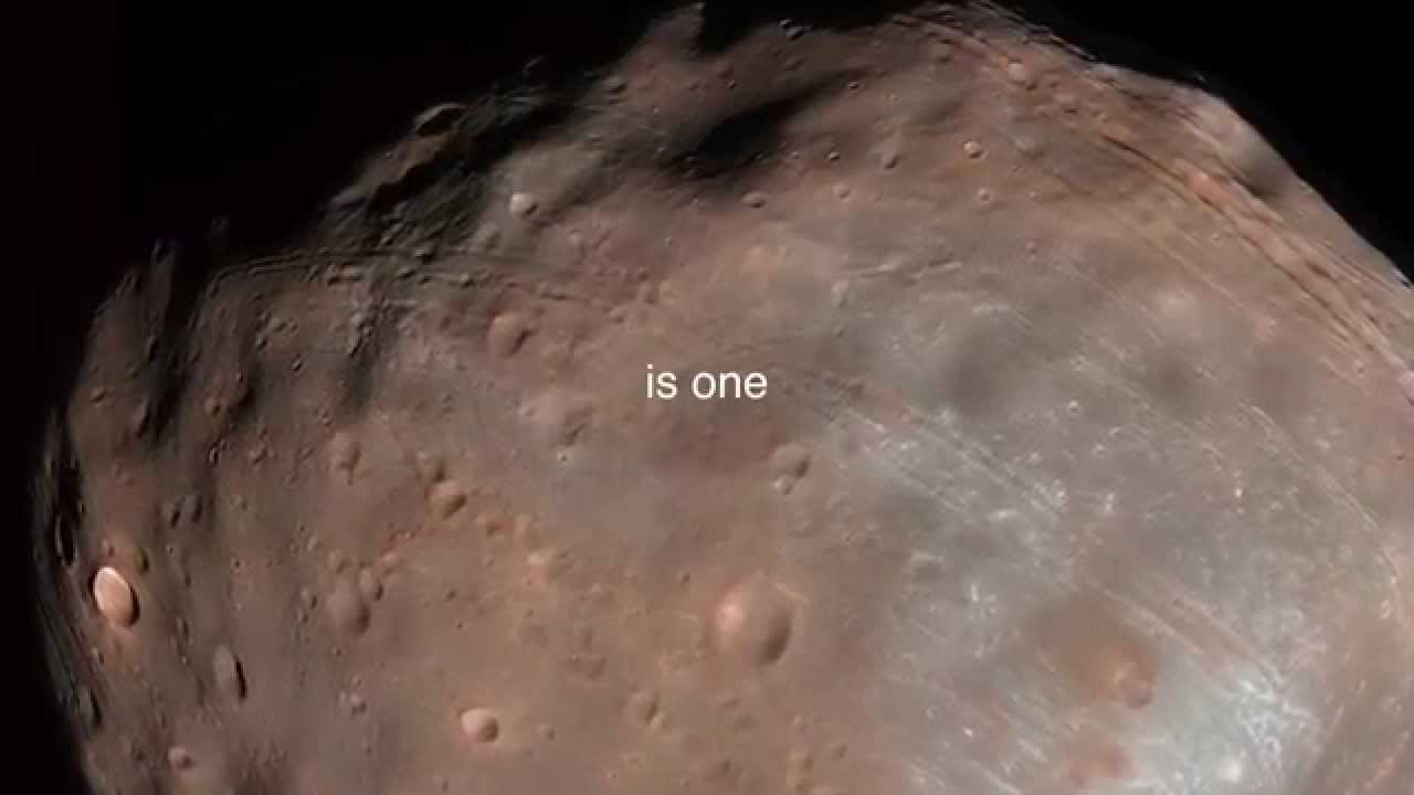 Monolith on Mars moon Phobos - YouTube
