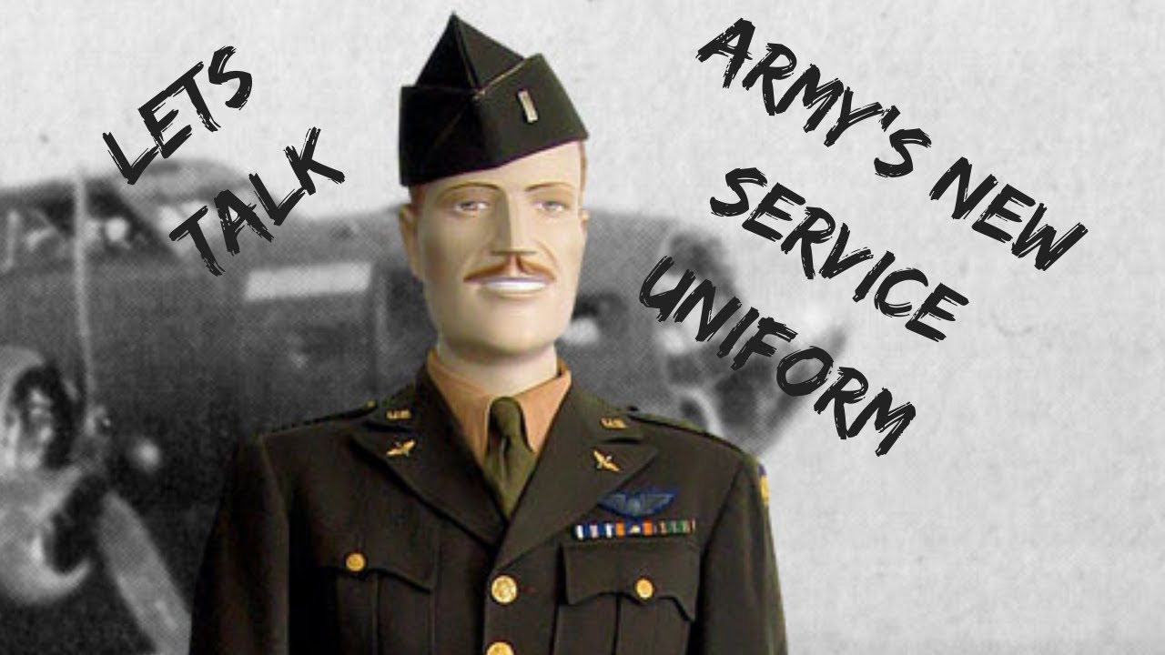 Army's new service uniform pinks and greens