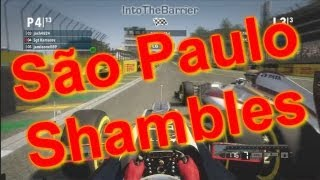 F1 Game 2012 - São Paulo Shambles Thumbnail