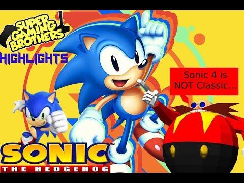 Super Gaming Bros.(SGB) Classic Sonic Marathon - Highlights