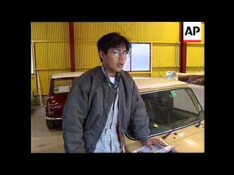JAPAN: NEW DESIGN FOR BRITISH MINI CAR