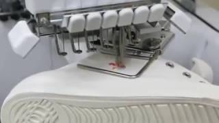 Brother PR  Вышивка на обуви online video cutter com