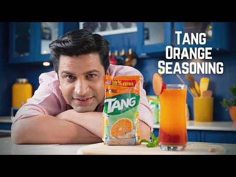 Tang Tails | The Tang Orange Seasoning Cooler | Chef Kunal Kapur Recipes | Summer Drink Recipes 🍊