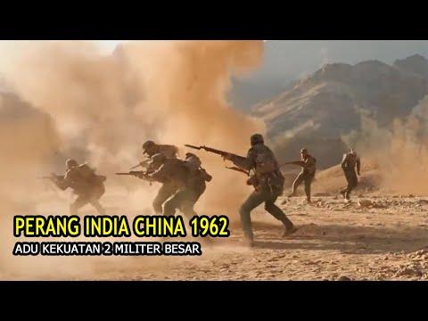 PERANG INDIA Vs CHINA 1962, ADU KEKUATAN BESAR LEMPAR BATU SAMPAI LEMPAR PELURU