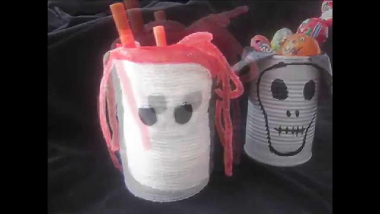 Manualidades halloween para ni os con material reciclado - Material para manualidades infantiles ...