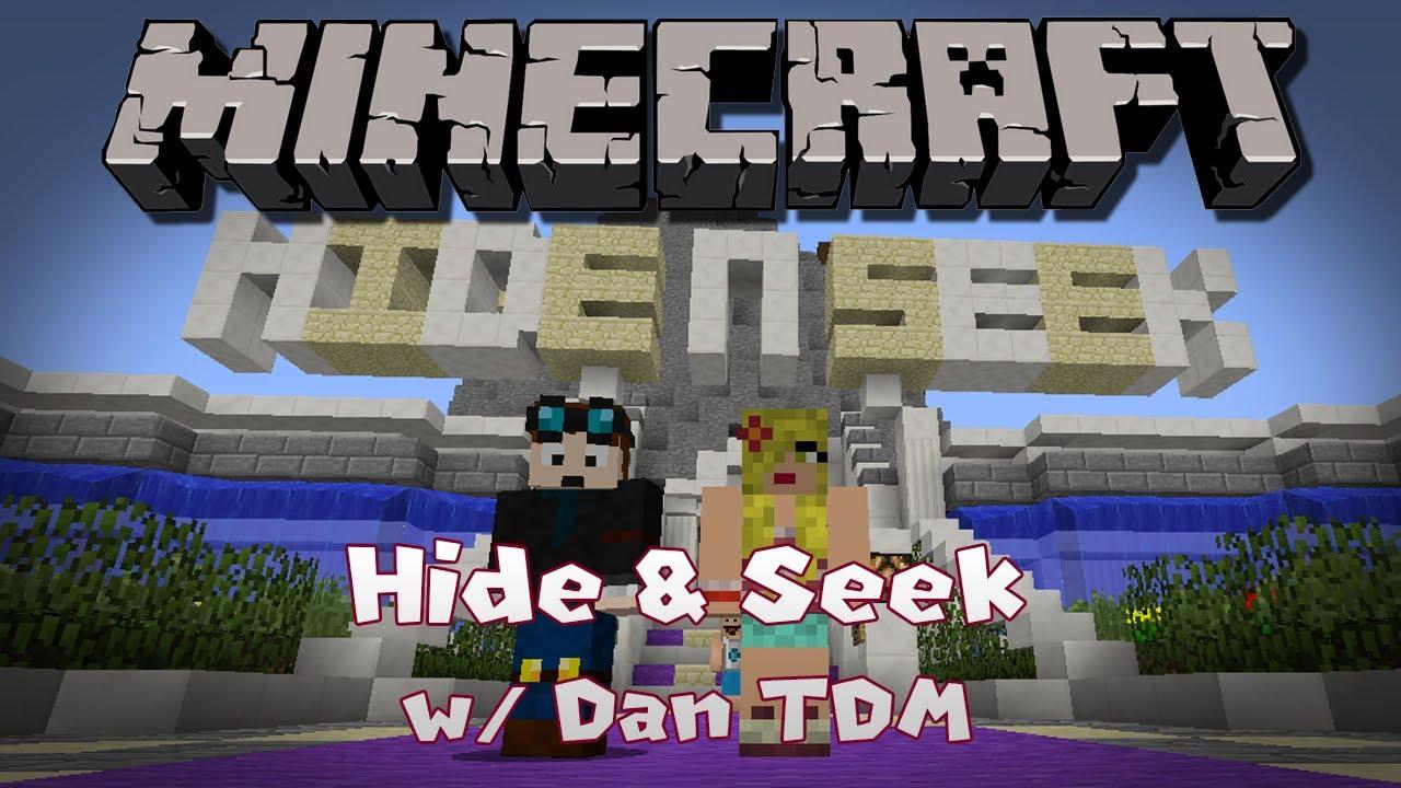Minecraft | HIDE & SEEK! | Green, juicy melons! | w/DanTDM - YouTube