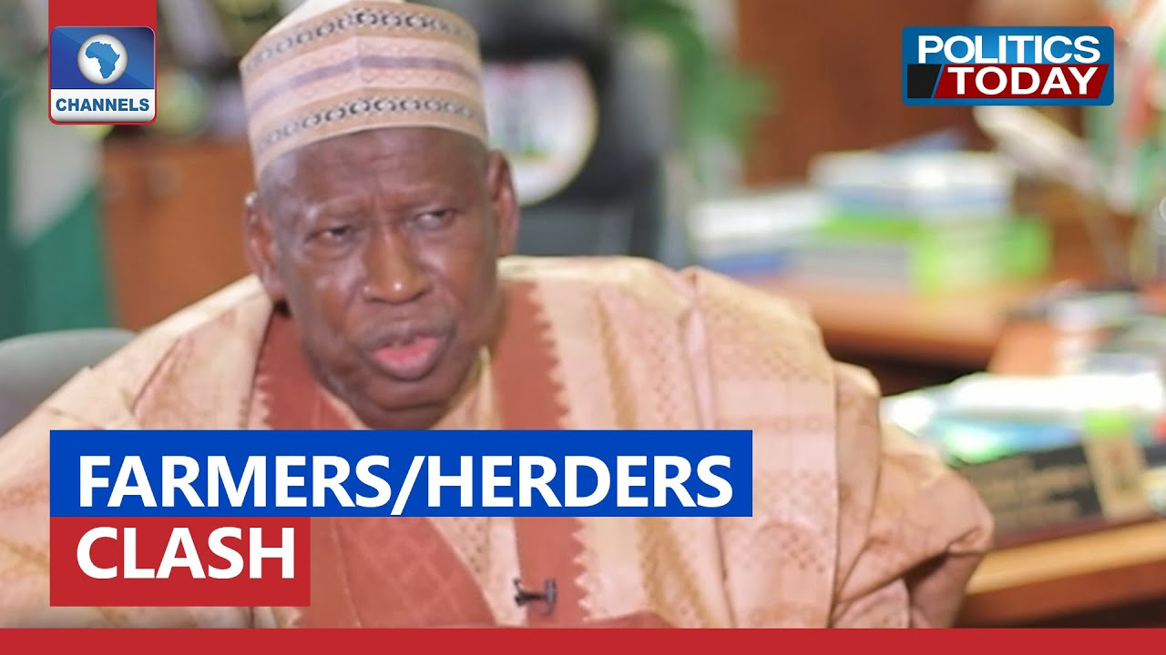 Download Farmers/Herders Clash: Ganduje Proffers Solution To Recurring  Security Threat