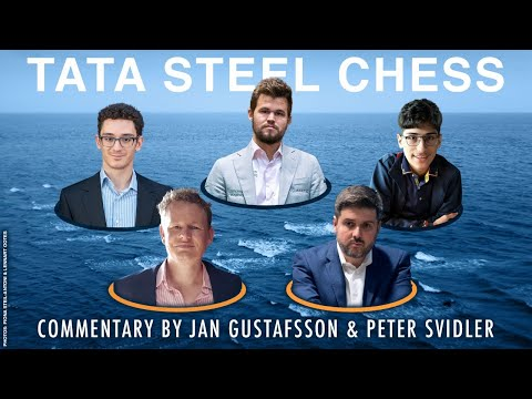 Tata Steel Chess 2020 Live Commentary | Round 9