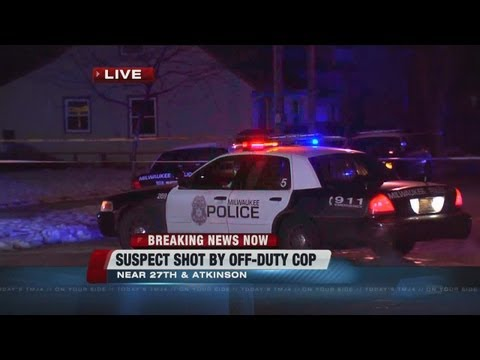 Off-duty Milwaukee Police detective shoots would-be robber