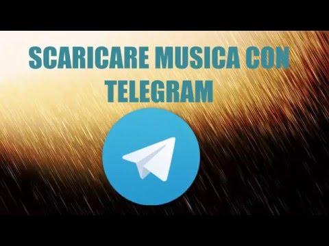 SCARICARE MUSICA CON TELEGRAM
