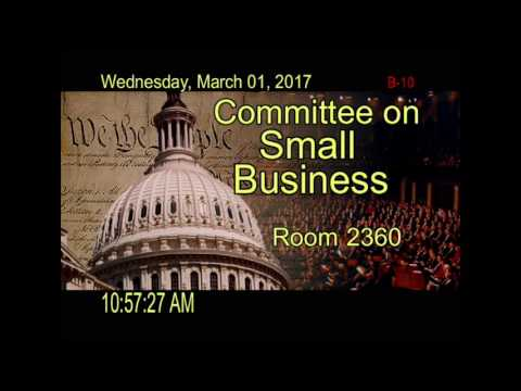 House Small Business Recorded Stream: 03/01/2017 at 6:18