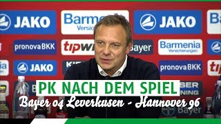 Bayer Leverkusen 2 - 2 Hannover 96