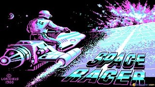 Space Racer gameplay (PC Game, 1988)