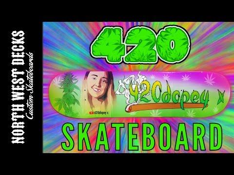 The Making - 420dopey X Skateboard!