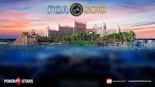 Главное Событие PCA - Финальный стол (с показом закрытых карт)