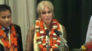 Nepal PM Thanks Joanna Lumley for 'Gurkha Justice'