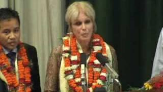 Nepal PM Thanks Joanna Lumley for 'Gurkha Justice'