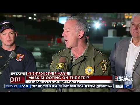 Las Vegas shooting suspect identified: Las Vegas Police press conference