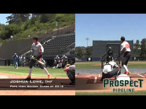 Joshua Lowe, Inf, Pope High School, HR Derby at the PG All American Classic