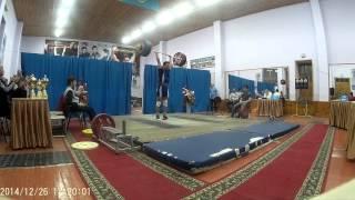 Федоров Олег - 143 толчок (26.12.2014 Кокчетав)