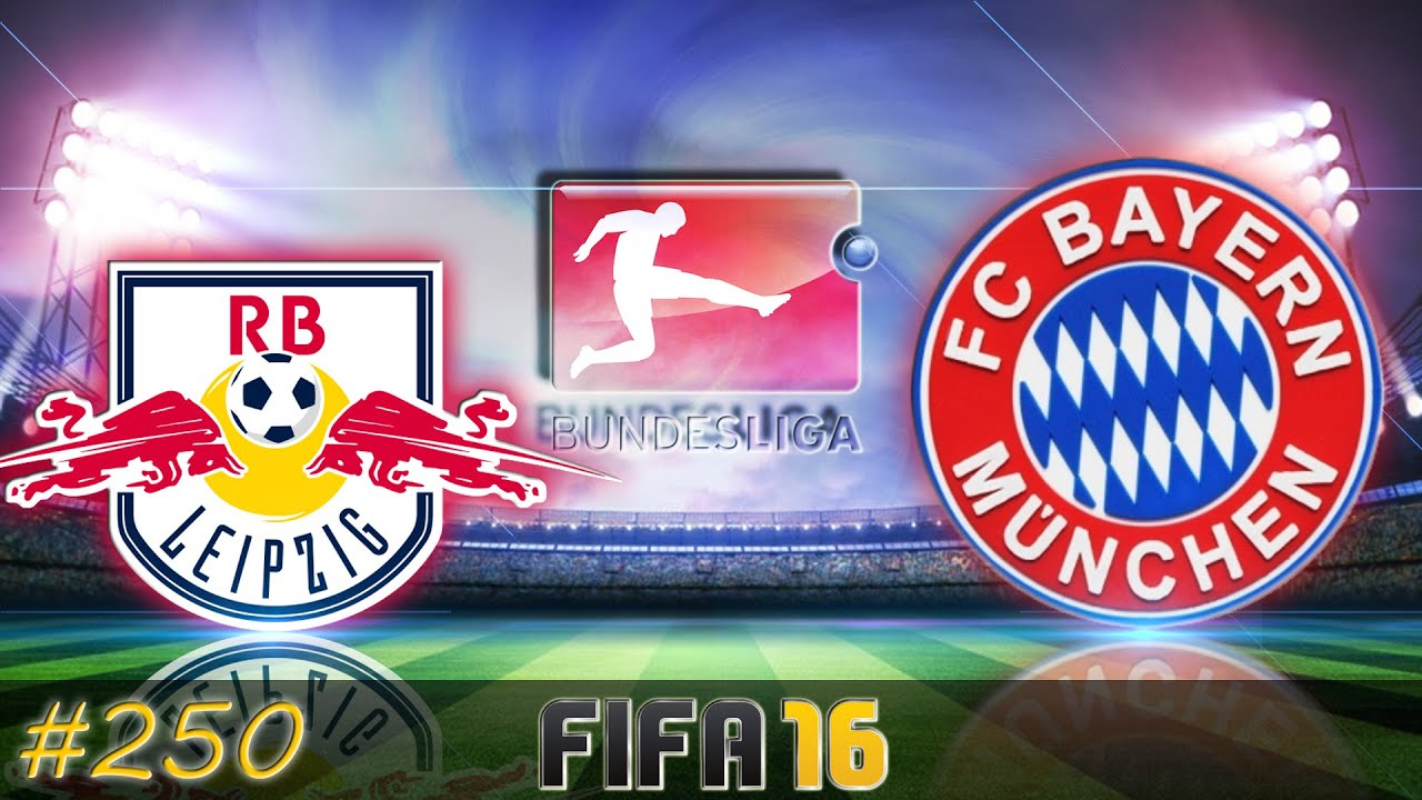 rb leipzig vs fc bayern m nchen fifa 16 trainerkarriere 250 youtube. Black Bedroom Furniture Sets. Home Design Ideas