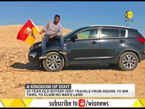 24-year old travels from Indore to Bir Tawil to claim no man's land