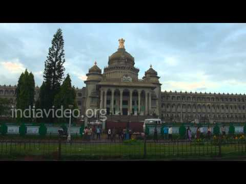 Vidhana Soudha or Karnataka Legislature, Bangalore