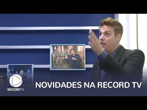 As manhãs da Record ganham novo apresentador e Fabio Porchat está de volta
