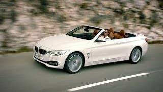 The new BMW 4 Series Convertible.