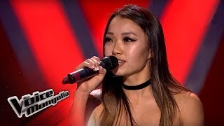 "Hulan.B - ""Just Hold Me"" - Blind Audition - The Voice of Mongolia 2018"
