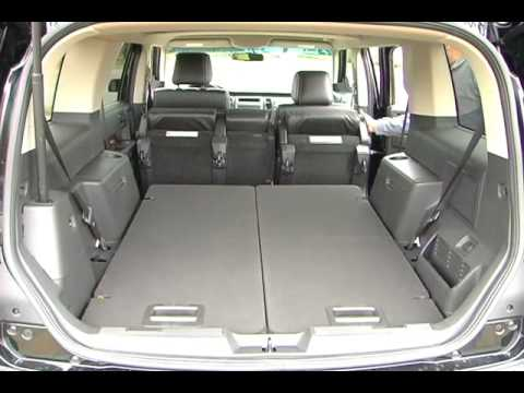 2009 Ford Flex Cargo And Hvac Youtube