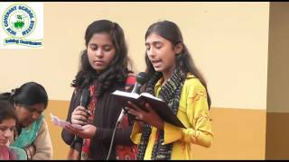 NCSS_  Christmas Function (Message By Students)