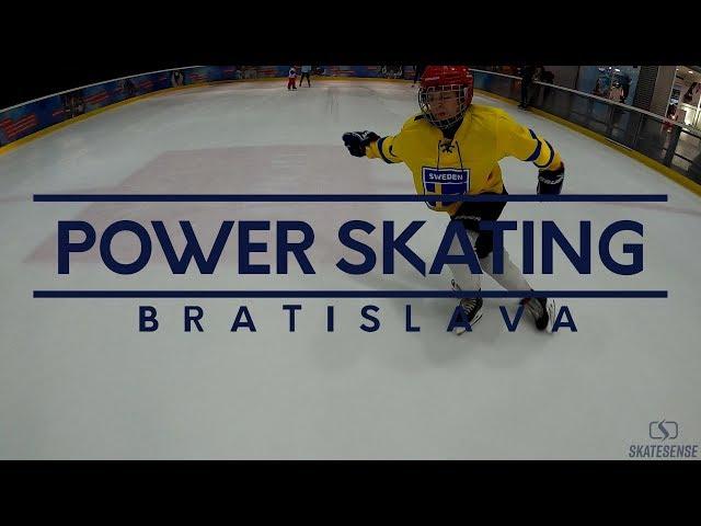 Power skating tréning | Bratislava