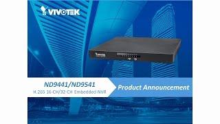 VIVOTEK ND9441/ND9541 Webinar