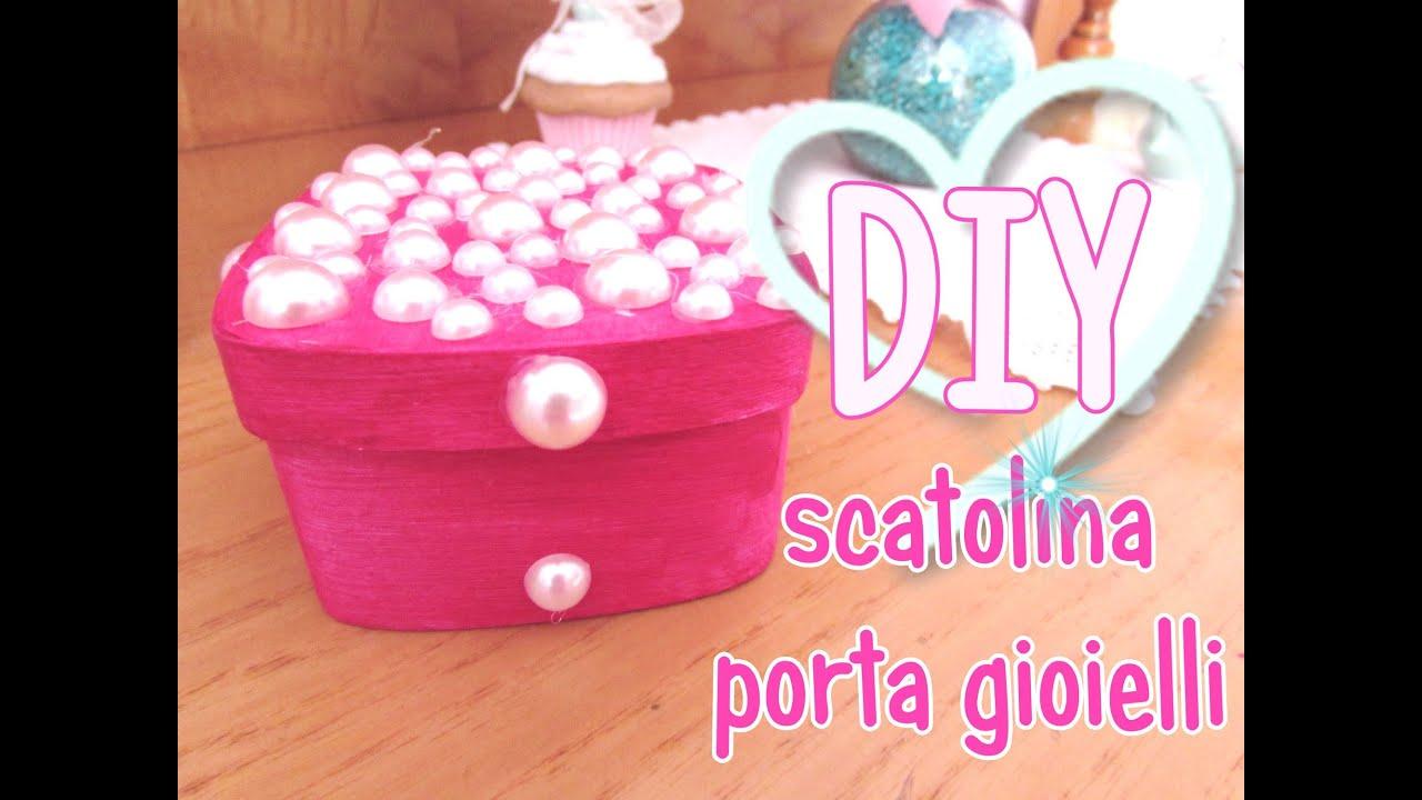 Favorito Scatolina porta gioielli FAI DA TE! idea regalo per natale! DIY  OE76
