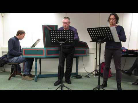 Marin Marais, Suite 1, Pièces en trio en Do majeur : Menuet