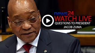 Zuma Answers Questions in Parliament -  Full stream