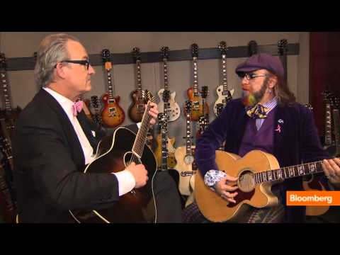 Gibson Guitar Jam Session With Tom Keene, Mark Hudson