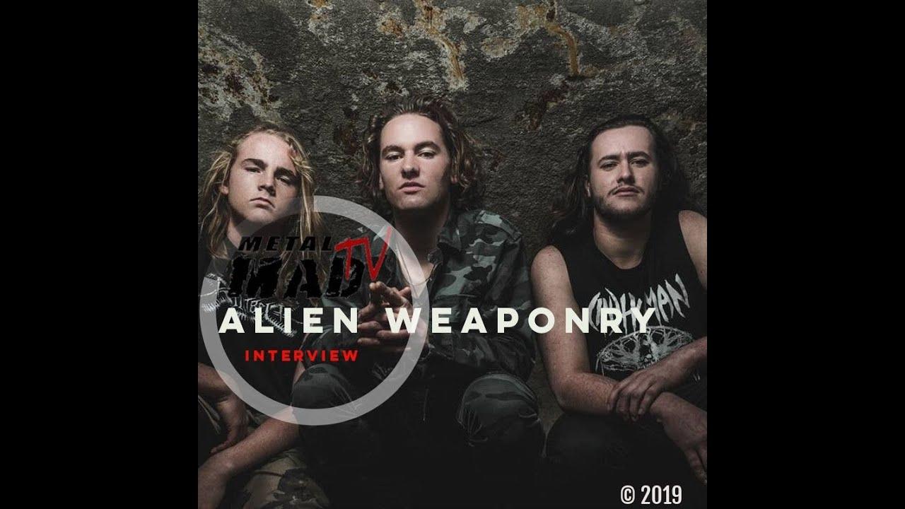 ALIEN WEAPONRY interview at Hellfest