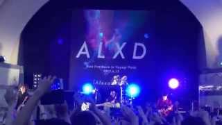 2015.6.17 Alexandros Famous Day 代々木公園のフリーライブの様子です...