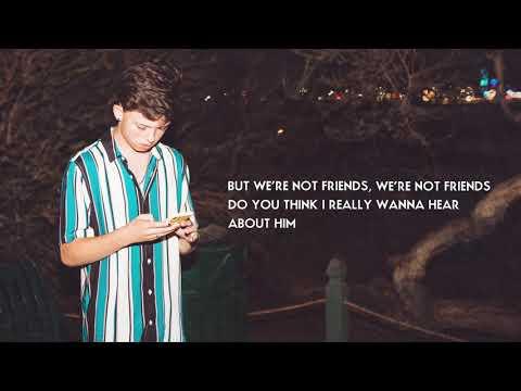 Jacob Sartorius - We're Not Friends (Official Lyric Video)