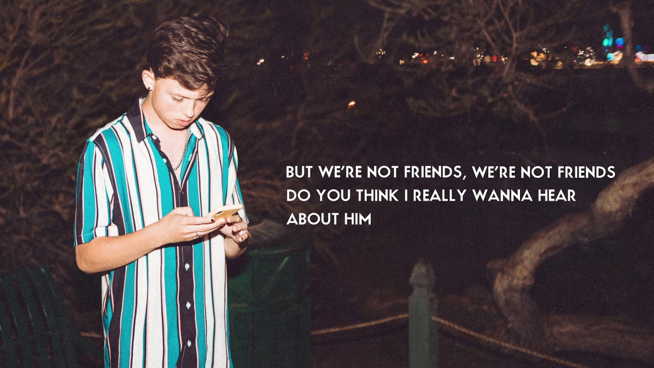Jacob Sartorius — We're Not Friends (Official Lyric Video)