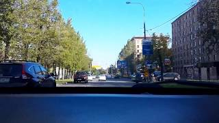 По московским дорогам...