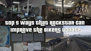 GTA Online Top 5 Ways Rockstar Can Improve The Bikers Update